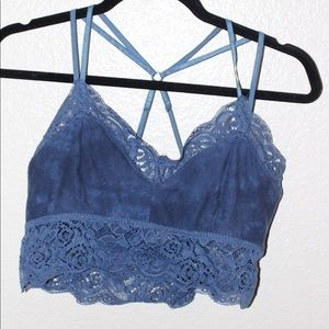 Mudd lace detailed bralette